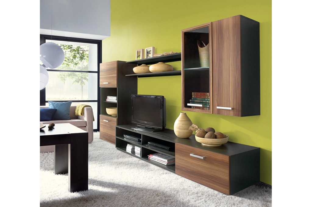 Fargo Living Room Wall Unit