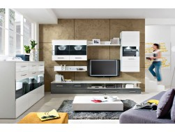 AVILA LIVING ROOM WALL UNIT - GREY