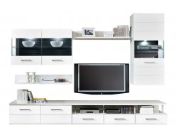 AVILA LIVING ROOM WALL UNIT - WHITE