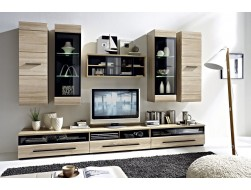 FEVER LIVING ROOM FURNITURE SET 1 - OAK SONOMA
