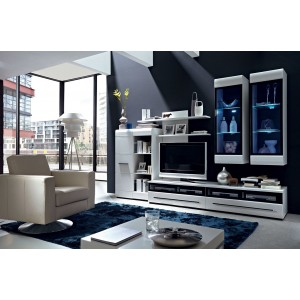FEVER LIVING ROOM FURNITURE SET 2 - WHITE