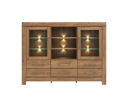 GENT GLAZED SIDEBOARD