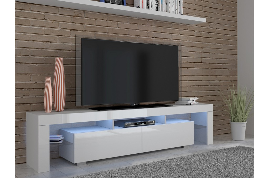 Argos Tv Cabinet White High Gloss