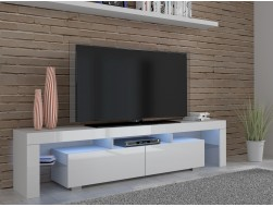 ARGOS TV CABINET - WHITE HIGH GLOSS