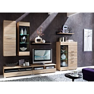 VOUCHER GLAZED TV CABINET