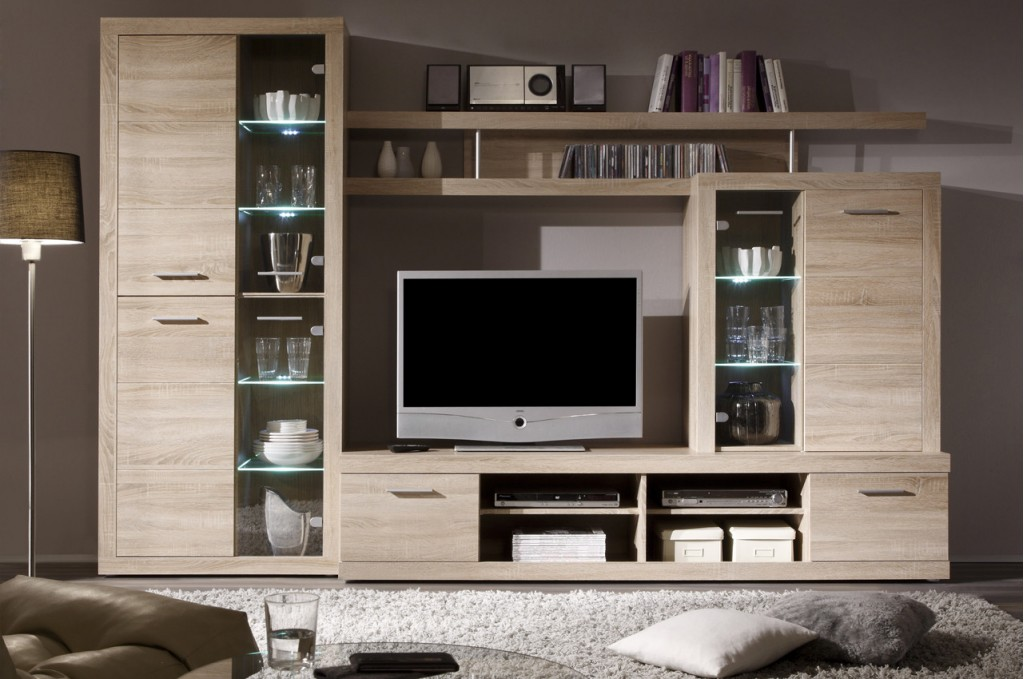 home modern sets cancan living room wall unit
