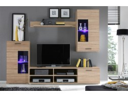 FRONTAL LIVING ROOM WALL UNIT
