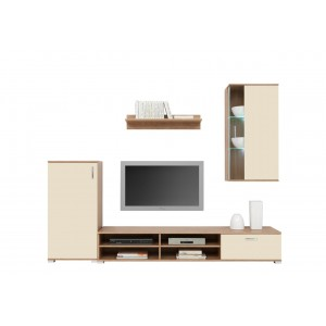 WINTER LIVING ROOM WALL UNIT