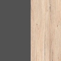 Grey Wolfram/Oak Sanremo Light