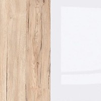 Oak Sanremo Light/White High Gloss