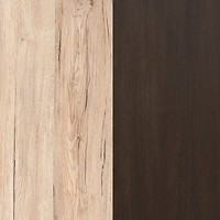 Oak Sanremo Light/Oak Wenge Brown