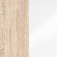 Oak Sonoma/White Gloss